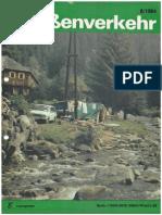 Der Deutsche Strassenverkehr / 1984/08