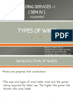 Types of Wires