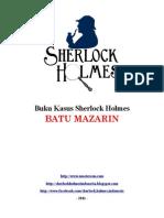 Buku Kasus Sherlock Holmes - Batu Mazarin