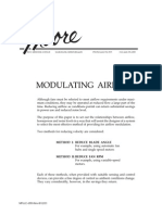 Modulating Airflow - Reduce Blade Angle