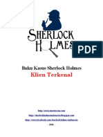 Buku Kasus Sherlock Holmes - Klien Penting