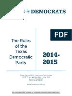 2014 TDP Rules