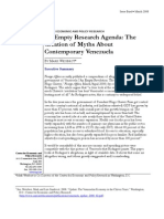 An Empty Research Agenda