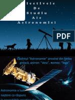 Obiectivele de Studiu Ale Astronomiei(Arhirii Anastasia)