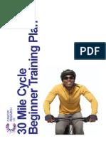 Cycling Training Plan Beginner