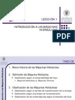 1. Introducción a Las Máquinas Hidráulicas