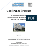 Conference Program Outline