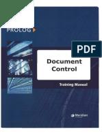 Prolog - Document Control