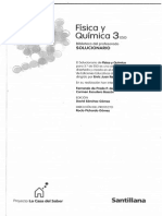 Solucionario Fisica y Quimica 3º ESO Santillana