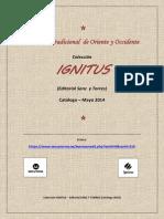 Catalogo Ignitus Mayo 2014 Web