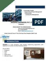 Maxpro Company Presentation - New - 11.11.13
