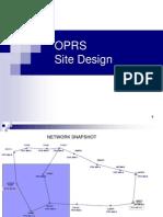 OPRS Detailed Site Design