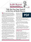 Vol. 1, Issue # 1 - A Life Free of Heart Disease