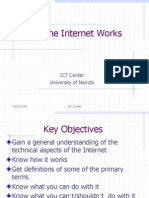 ICT How Internet Works