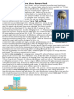 16.How Water Towers Work
