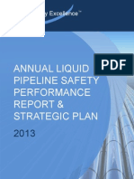 PSE 2013 Annual Safety Perf Report