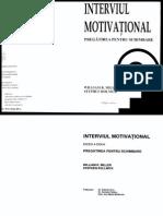 Interviul Motivational - Pregatirea Pentru Schimbare