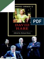 [Richard Boon] the Cambridge Companion to David Hare