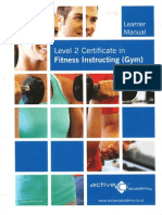 Level 2 Gym Instructors Manual