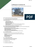 Transformer Foundation Calculation