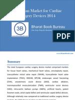 European Market for Cardiac Surgery Devices 2014