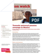Towards universal pension coverage in Mexico
