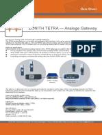 Zonith Tetra Analog Gateway