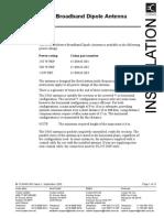 Codan 463 Broadband Dipole Antenna Manual 15-00463-901L1