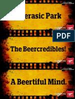 Miller Beer Movie Title Creatives