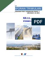 Laporan Triwulan Xi (Februari 2014)