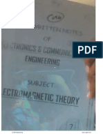 7.Electromagnatic Theory