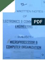 9.MicroProcessor & Computer Organisation (1)
