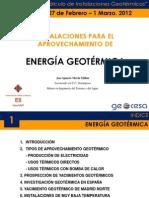 Tema 1. Instalaciones Geotermicas