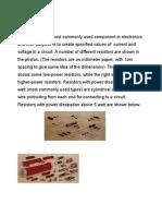 Resistors Capacitors Transistors - Details Complete
