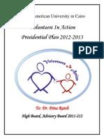 Karim's Presidential Plan
