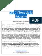 Coaching - Les 7 Filons de La Réussite
