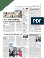 Fisica, superfinanziamento a ricerca dell'Ateneo - Il Messaggero dell'8 luglio 2014