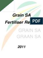 Grain SA Fertilizer Report 2011
