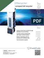 A4 Brochure SNRBillRecycler Eng v1.0 March2014 Web