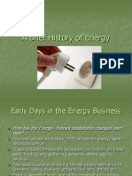 A Brief History of Energy2!24!05