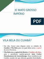 História de Mato Grosso Imperial