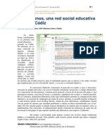 RedAlumnos, Una Red Social Educativa Made in Cádiz