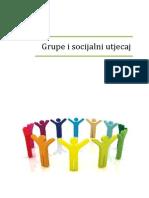 Grupe i Socijalni Utjecaj, Skripta, 92 Str