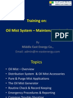 Oil Mist Training - Maintenance Level