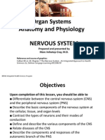 BEPAA-Organ Systems A and P-NERVOUS SYSTEM (H.S. 10-12)