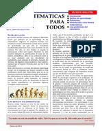 Matem Ticas Para Todos 138 Marzo 2014