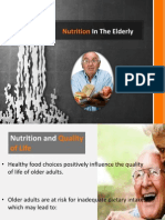 Nutrition in the Elderly1