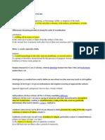 Notes Dermatology