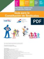 Guía de Constitución de Sindicatos en El Sector Público