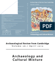 Van Pelt - Archaeology and Cultural Mixture